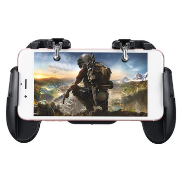 Fire Trigger Shooters Button Controller Gamepad Phone Stretchable Bracket for PUBG Mobile Game