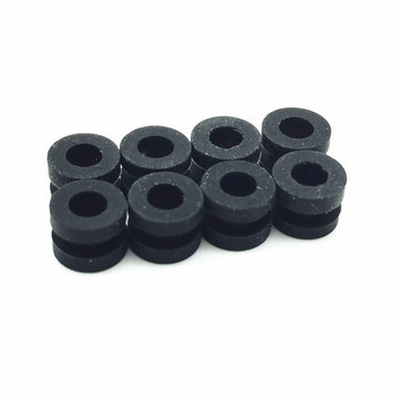 8 STKS HGLRC M3 Anti-vibratie Washer Rubber Demping Bal voor RC 30.5x30.5mm F3 F4 Vlucht Controller