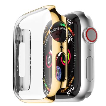 BakeeyめっきタッチスクリーンハードPCの腕時計カバー林檎 Watchシリーズ4 40mm / 44mm