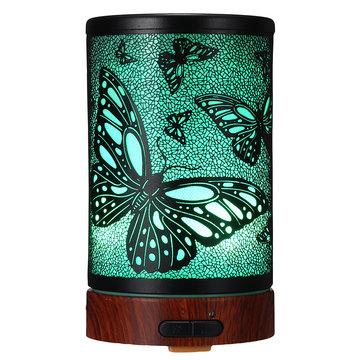 رائحة المرطب الضروري النفط ذكي LED الهواء الروائح الناشر لتنقية