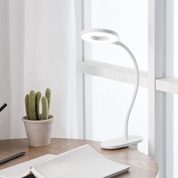 Yeelight 5W LED USB Rechargeable Clip Desk Table Lamp Eye Protection Touch Dimmer 3 Modes Reading Lamp (Xiaomi Ecosystem Product)
