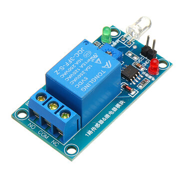 Photodiode Sensor 5V Relay Photoswitch Module Photoelectric Light Detection Geekcreit for Arduino - products that work with official Arduino boards