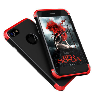 Metal Bumper+Hard PC Shell Case For iPhone 6 Plus & 6s Plus