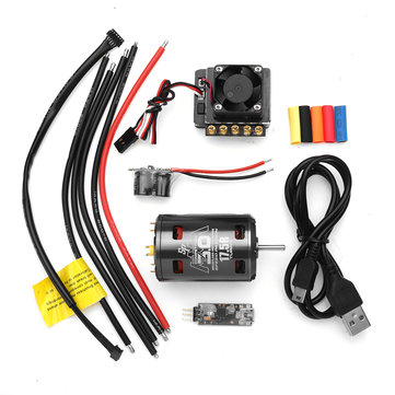 Speed Passion Competition 540 Мотор Ver.3 17.5T 13.5T + GT4 90A ESC Набор для 1/10 On-road Rc Авто