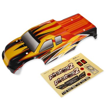 ZD Racing 9116 08427 1/8 2.4G 4WD Brushless Rc Car Body Shell Ersatzteile