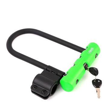 ABUS Ultra 410 Anti Theft Bike U serratura Bicycle Motorcycle Gates Recinzioni di sicurezza serratura con 2 chiavi