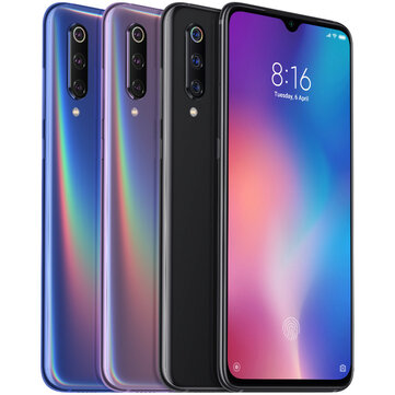 Xiaomi Mi9 Mi 9 Global Version 6.39 inç 48MP Üçlü Arka Kamera NFC 6 GB 128 GB Snapdragon 855 Octa Core 4G Akıllı Telefon