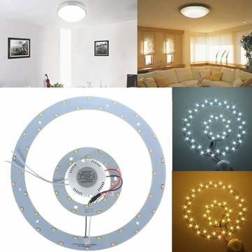 25W 5730 SMD LED Double Panel Circles Annular Ceiling Light Fixtures Board Lamp