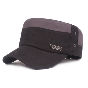 Men Cotton Sunshade Military Army Cap Casual Adjustable Durable Breathable Outdoor Flat Hats