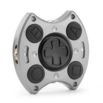 MATEMINCO EDC Ultimate 5 min Rotating Cube Hand Spinner Aluminum Alloy Fingertips Gyro