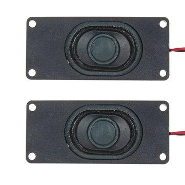 2st 3 inch luidspreker passieve bas Vibrerende luidsprekereenheid 3W 4ohm voor computer lcd tv