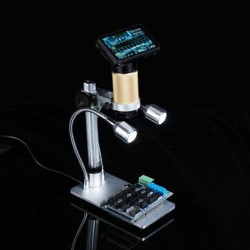 10X-300X Digital Inspektion Mikroskop PCB Reparatur HDMI USB Full HD 3.0MP Kamera