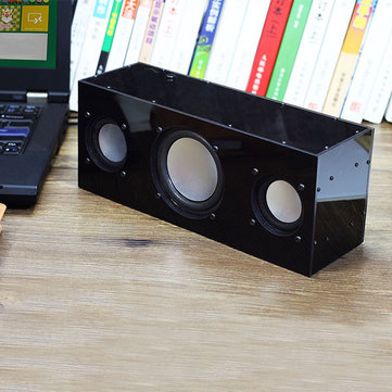 DIY USB Stereo Speaker Production Unassembled Kit DC 5V Heavy Bass 2.1 Channel Active Audio 360 Degree Surround Sound For Computer TV Phones