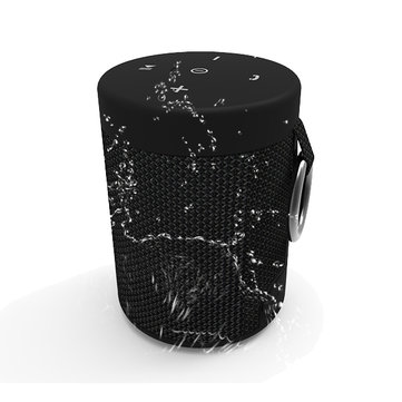 Wireless Bluetooth V4.2 + EDR AUX Wired Waterproof IPX5 Tape Cover Speaker Música portátil Caixa
