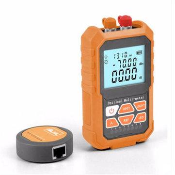 3in1 Medidor de Potência De Rede Óptica Testador De Fibra Óptica Testador De Fibra Óptica 1mw com 5 km Visual Fault Locator