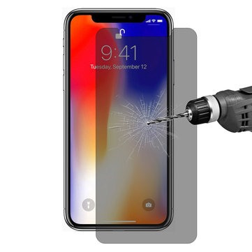 Enkay 0.26mm 9H 2.5D Anti Peeping زجاج صلب شاشة Protector for iPhone X / iPhone XS / iPhone 11 Pro