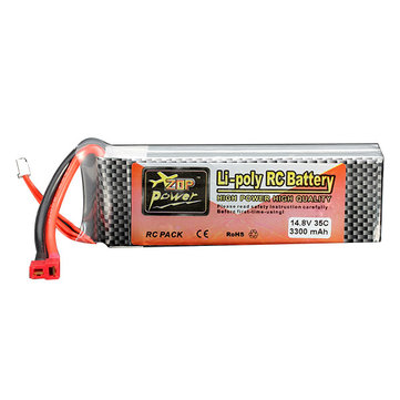 ZOP Power 14.8V 3300MAH 4S 35C Lipo Battery T Plug