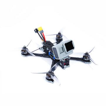 iFlight Nazgul5 227mm 4S 5 Inch FPV Racing Drone BNF / PNP SucceX-E F4 Caddx Ratel Cámara 45A BLheli_S ESC 2207 2750KV motor
