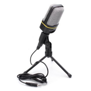 3.5 مم مكثف ميكروفون هيئة التصنيع العسكري للحصول على MSN سكايب دفتر كمبيوتر محمول تسجيل الغناء الكمبيوتر