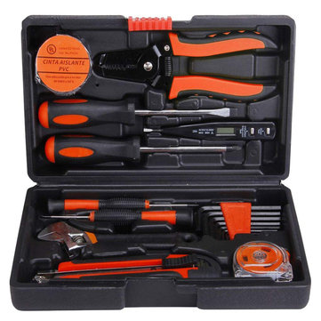 20Pcs Screwdriver Wrench Wire Stripper Home Hardware Combination Kit Electric Maintenance DIY Tool