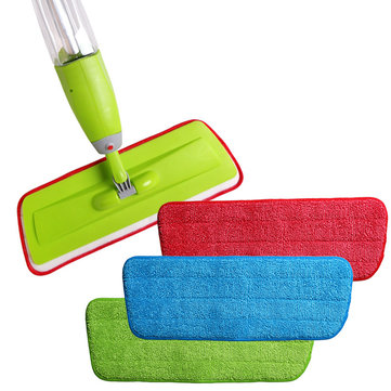 Microfiber Spray Mop Replacement Head Pads Pavimento Cleaning Cloth Paste to Replace Cloth Household Cleaning Mop Accessories