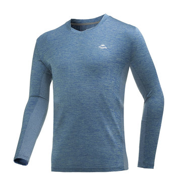 Naturehike S-427236 Sports Absorb Sweat Quick-drying Running Sportswear Fitness Gym Yoga T-Shirts