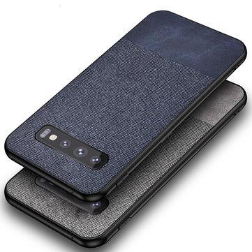 Bakeey pano de algodão protetora Caso para Samsung galaxy s10e / s10 / s10 Plus s10 5g anti impressão digital tampa traseira