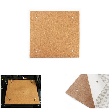 310*310*3mm Heated Bed Hotbed Thermal Heating Pad Insulation Cotton With Cork Glue For CR-10 3D Printer Reprap Ultimaker Makerbot