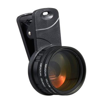 Aquarium Aquarium Zeewater Coral Reef Telefoon Camera Filters Lens met macrolens