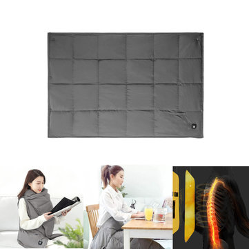 3 Modes PMA Graphene Fever Blankets Washable Duck Down Vest Shawl From Xiaomi Youpin