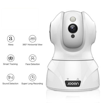 Jooan 1080P PT 360° Panoramic IP Camera Alexa Support H.264 Night Vision Motion-Detection Home Baby Monitors