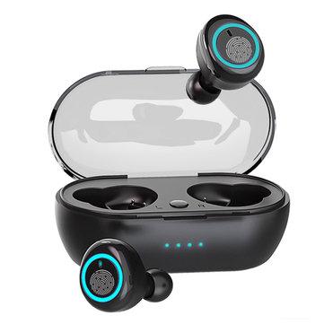 Bakeey D10 TWS bluetooth 5.0 Écouteurs Intelligents Touch Appels Binauraux Hifi Écouteurs Sans Fil Avec Boîte De Recharge