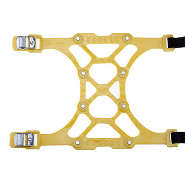 Yellow TPU Winter Car Snow Chain SUV Truck Wheel Tyre Anti-skid Safety Belt Safe Driving For Ice Sand Muddy Offroad