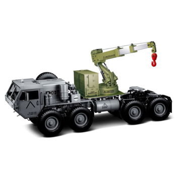HG P802 1/12 Upgraded Crane Lifting Arm Assembly for RC Car Military Tractor Truck 8*8 DIY Spare Parts