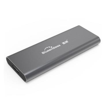 Blueedless M280A M.2 NGFF SSD HDD Enclosure 5Gbps Custodia per unità a stato solido USB 3.0 Base disco rigido