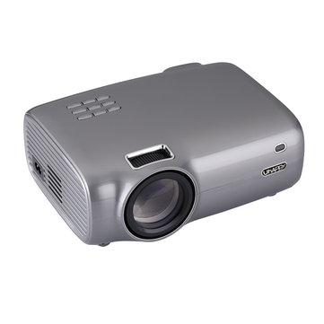 Uhappy U43 Pro LCD Projector 720P Max Ondersteuning 1080P 2600 Lumen LED Projector Mini Home cinema Projector 1GB + 8GB Android-versie