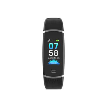Lenovo HX11 HD Color Display 3D UI Weather Report Heart Rate Activity Target Setting 20Days Standby Smart Watch Band