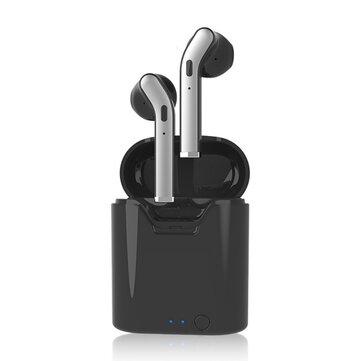 H17T Mini TWS Fones de ouvido estéreo sem fio bluetooth 5.0 Fone de ouvido Hi-fi Sport Fones de ouvido com carregamento Caso para telefones