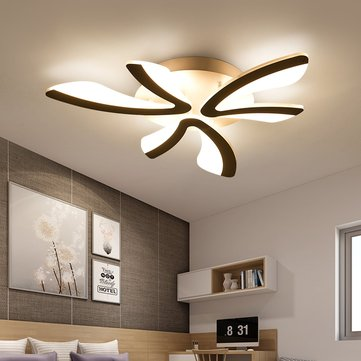 Acrylic Modern LED Ceiling Light Pendant Lamp Kitchen Bedroom Dimmable Fixture