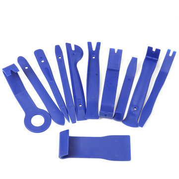11PCS Blue Interior Trim Removal Tool Set For Car Audio System Dashboard Door Panel