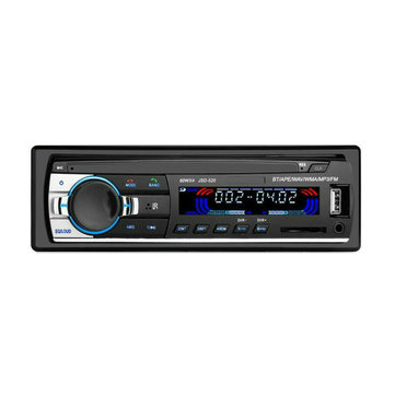 JSD520 Autoradio Car Radio 1 Din 12V Car MP3 Player bluetooth Stereo AUX-IN FM USB with Remote Control