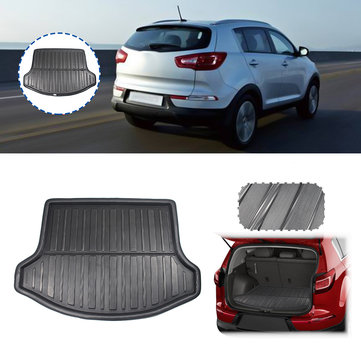 Car Rear Trunk Cargo Liner Mat For Kia Sportage SL 2011-2015 3rd Gen Only