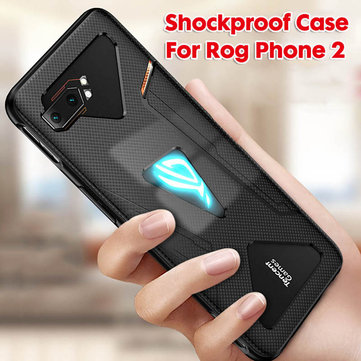 Bakeey Shockproof Soft Silicone Protective Case For ASUS ROG Phone 2