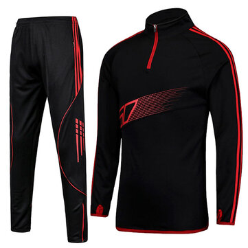 PRO Football Training Sports Costumes hommes respirant manches longues sport chandail