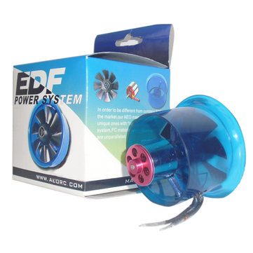 AEORC 50mm 8-Blade Ducted Fan EDF Combo w/5800KV Brushless Motor For Scale RC Aiprlane